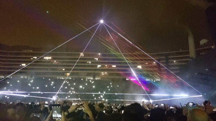 One of the best concerts in Peru was Roger Waters' visit in 2018