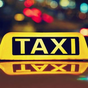 Airport Taxi sign