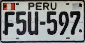 Family Car License Plate