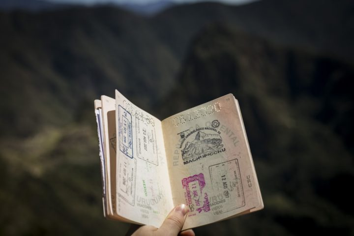 Show Your Passport At The Lima Airport