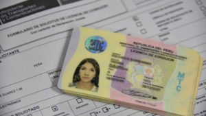 Peruvian Driver's License