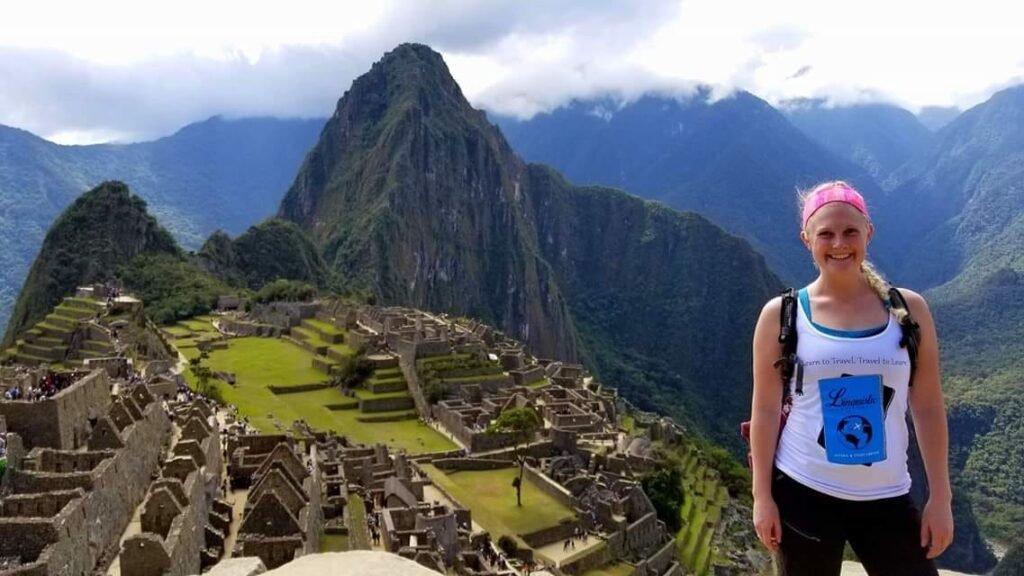 Nicole Berry at Machu Picchu